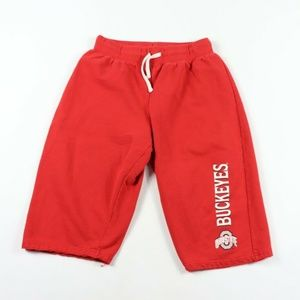 Vintage Ohio State Buckeyes Cotton Short Red Small